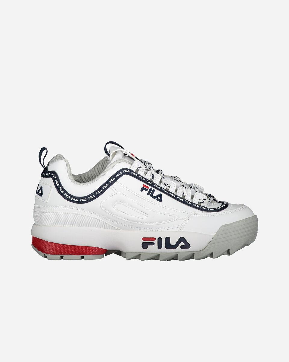 Scarpe sneakers FILA DISRUPTOR LOW W S4076625 scatto 0