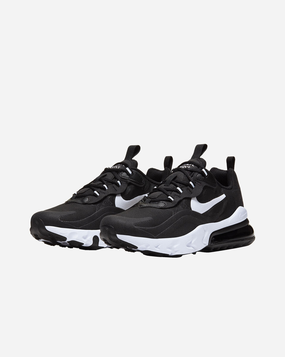 Scarpe sneakers NIKE AIR MAX 270 REACT JR GS S5161713 scatto 1