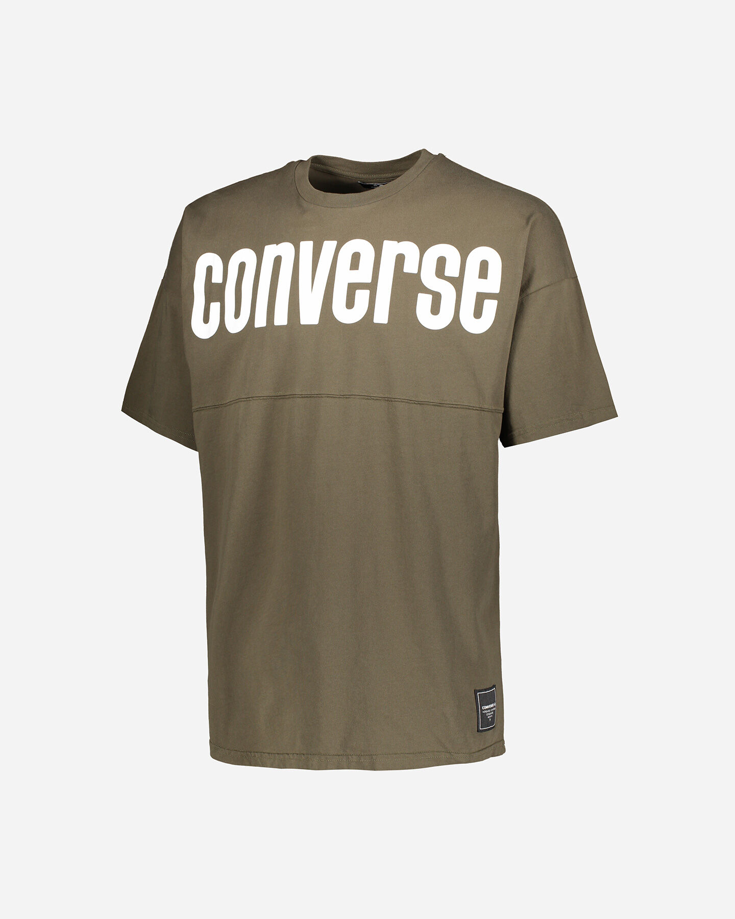 T-Shirt CONVERSE CREW BOLD M S5181020 scatto 0