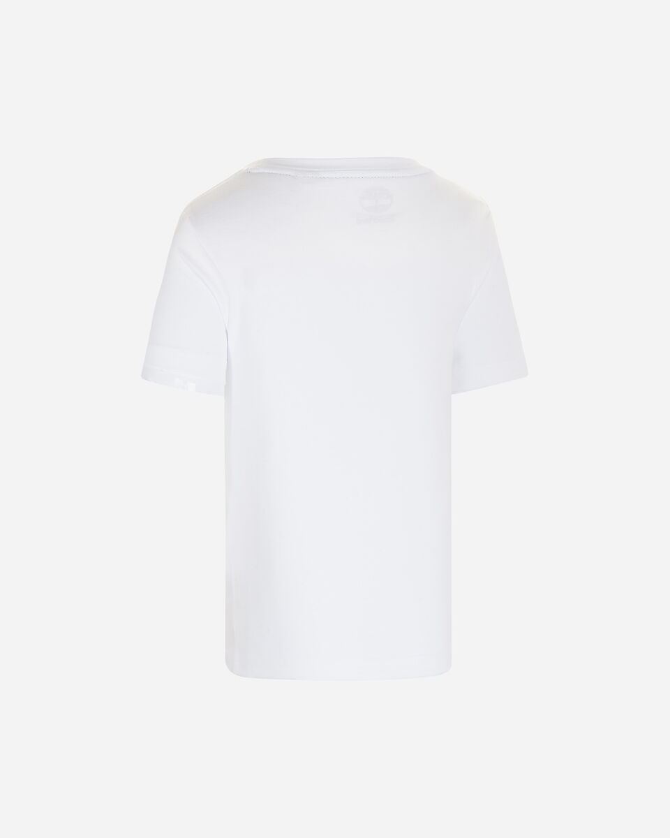 T-Shirt TIMBERLAND PLOGO TREE GRAPHIC JR S4088884 scatto 1