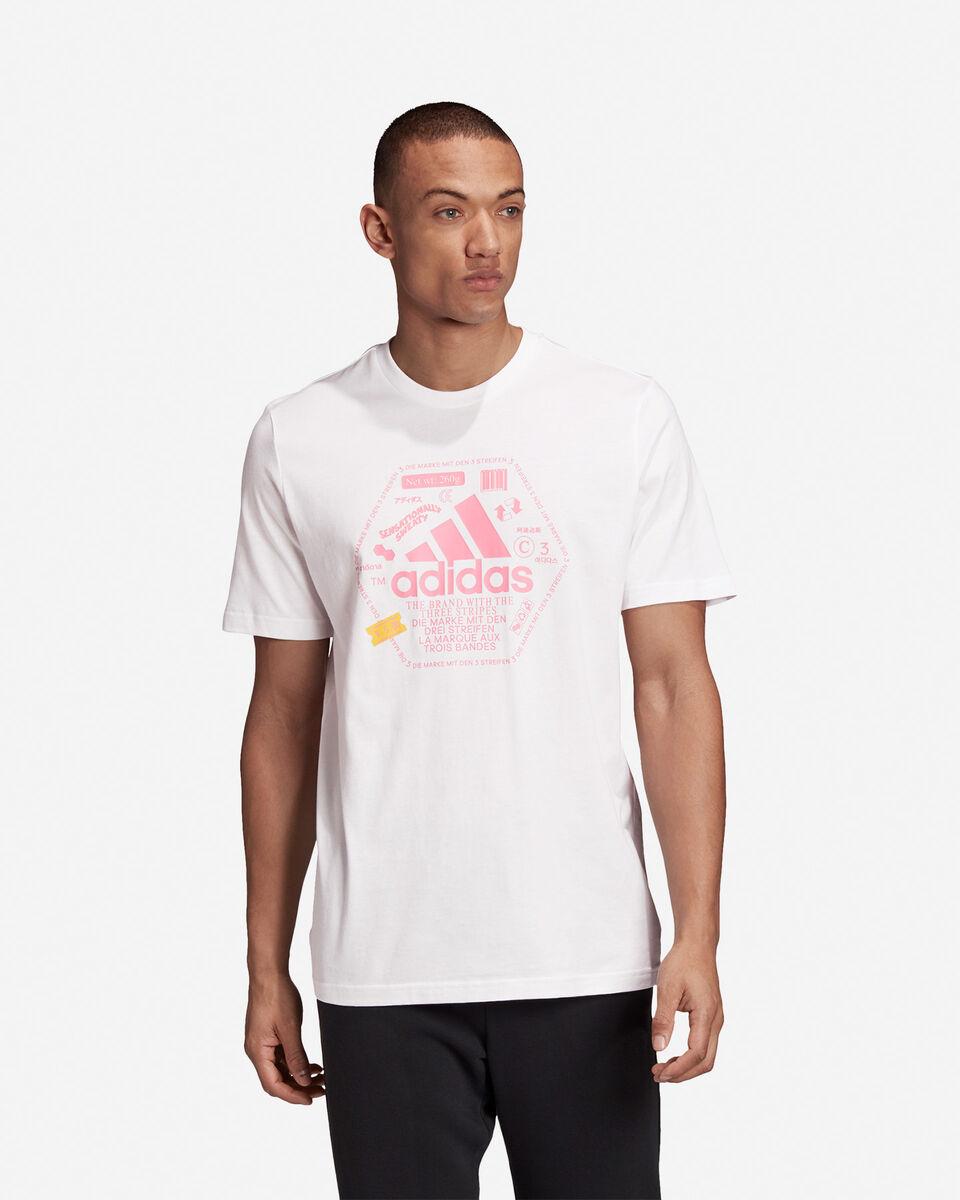 T-Shirt ADIDAS URBAN BIG LOGO M S5211985 scatto 2