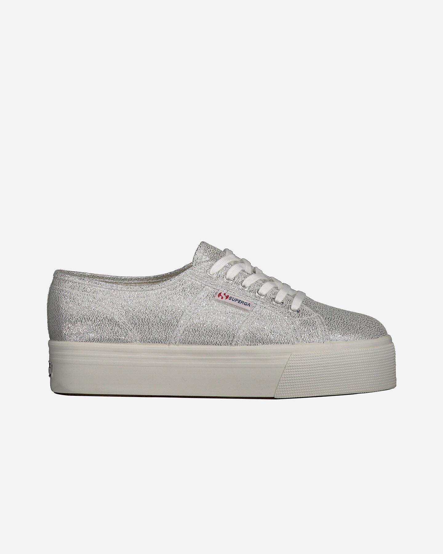 Scarpe sneakers SUPERGA 2790 LAME W S4010575 scatto 0