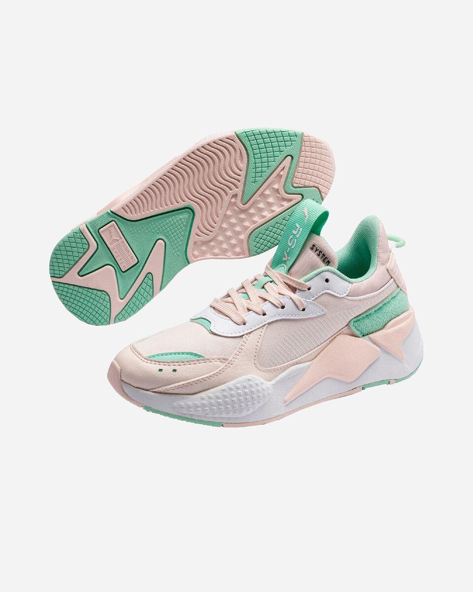 Scarpe sneakers PUMA RS-X COLLEGIATE GS JR S5173101 scatto 1