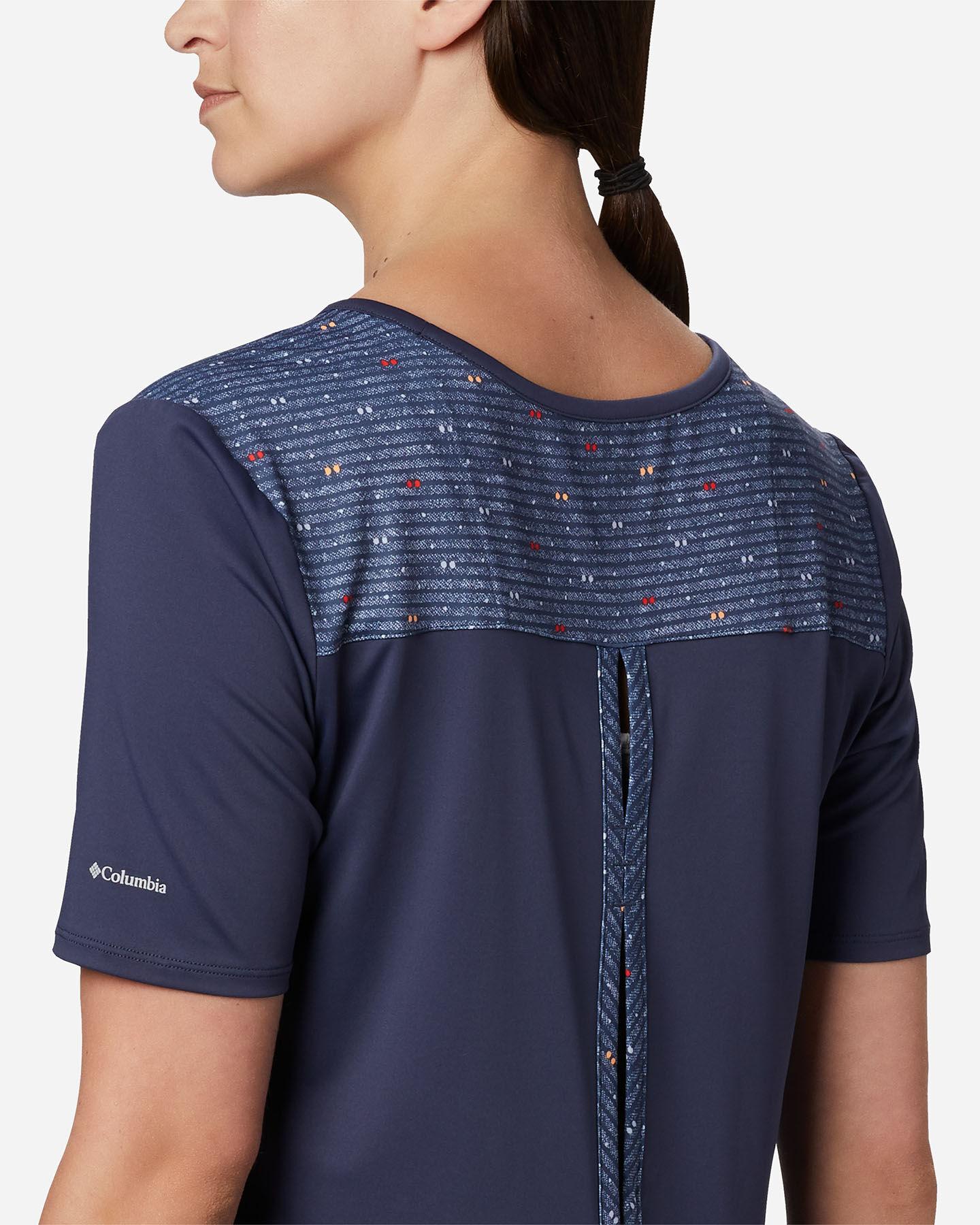 T-Shirt COLUMBIA CHILL RIVER W S5174997 scatto 4