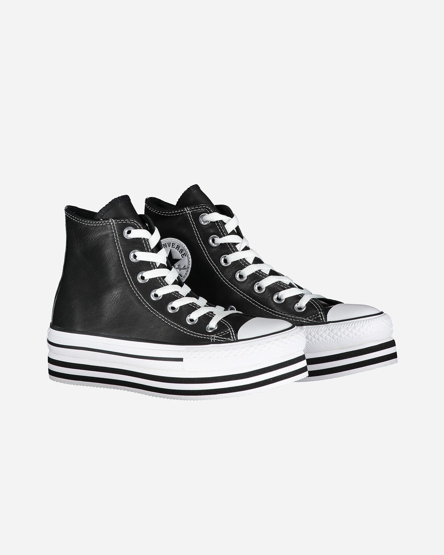 scarpe donna converse all star platform