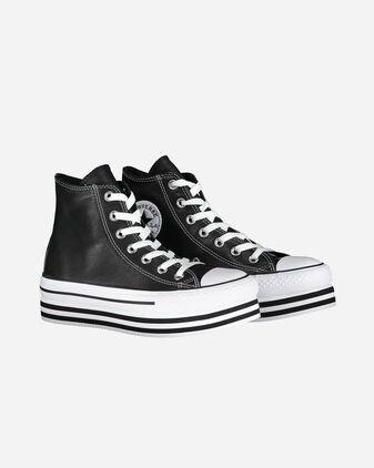 Scarpe sneakers CONVERSE CHUCK TAYLOR ALL STAR PLATFORM HI W