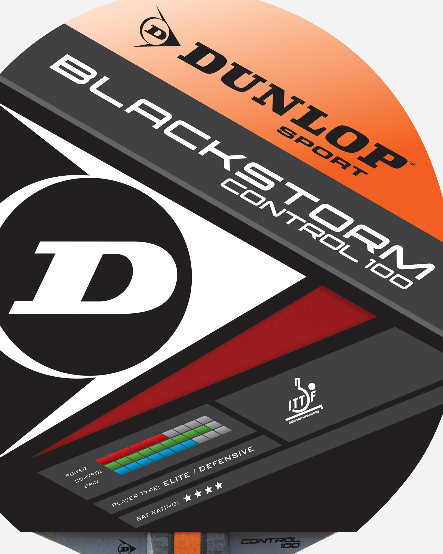 Accessorio ping pong DUNLOP BLACK STORM SPIN S4010049|1|UNI scatto 1