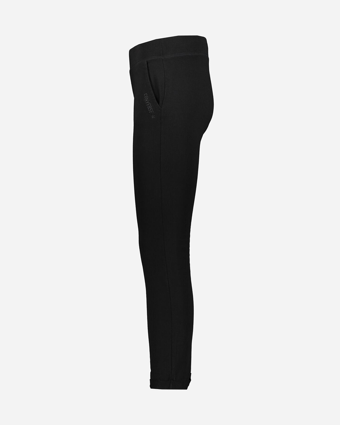 Pantalone CONVERSE LOGO CLASSIC W S5181155 scatto 1
