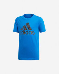 T-SHIRT bambino ADIDAS BADGE OF SPORT JR