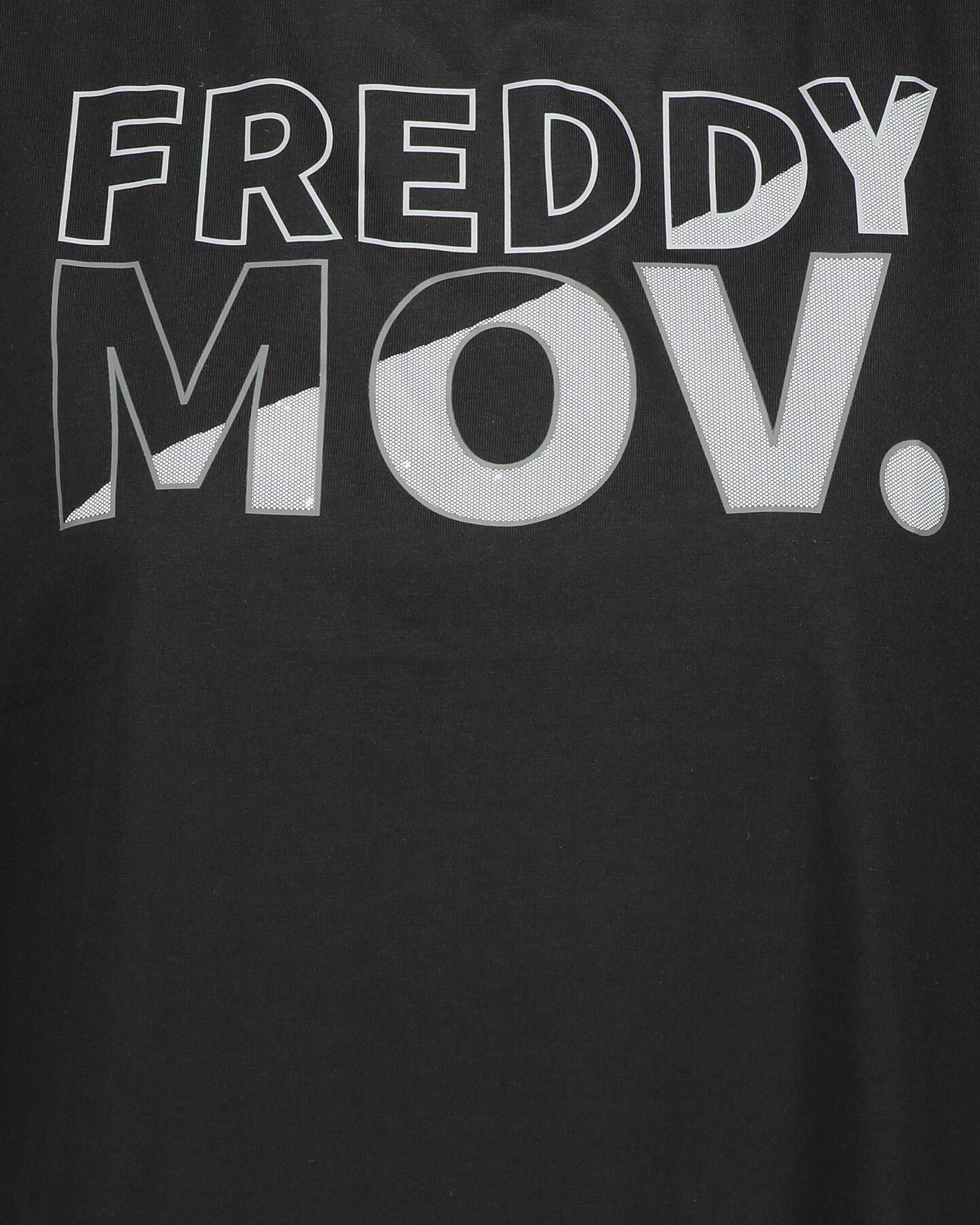 T-Shirt training FREDDY BIG LOGO MOV W S5183526 scatto 2