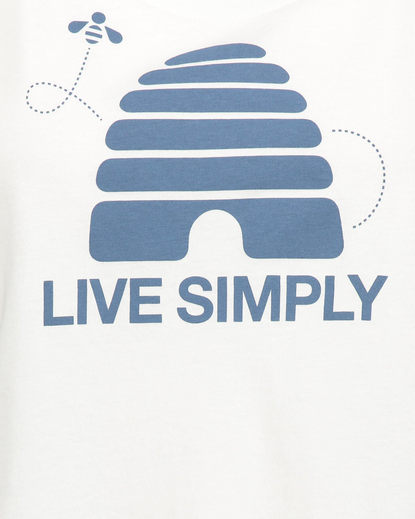 T-Shirt PATAGONIA LIVE SIMPLY HIVE W S4077592 scatto 2
