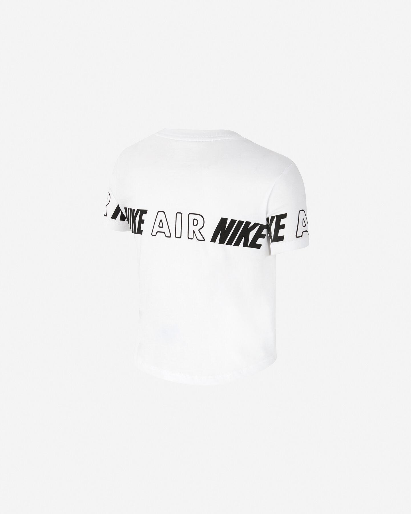 T-Shirt NIKE CROP AIR JR S5225950 scatto 1