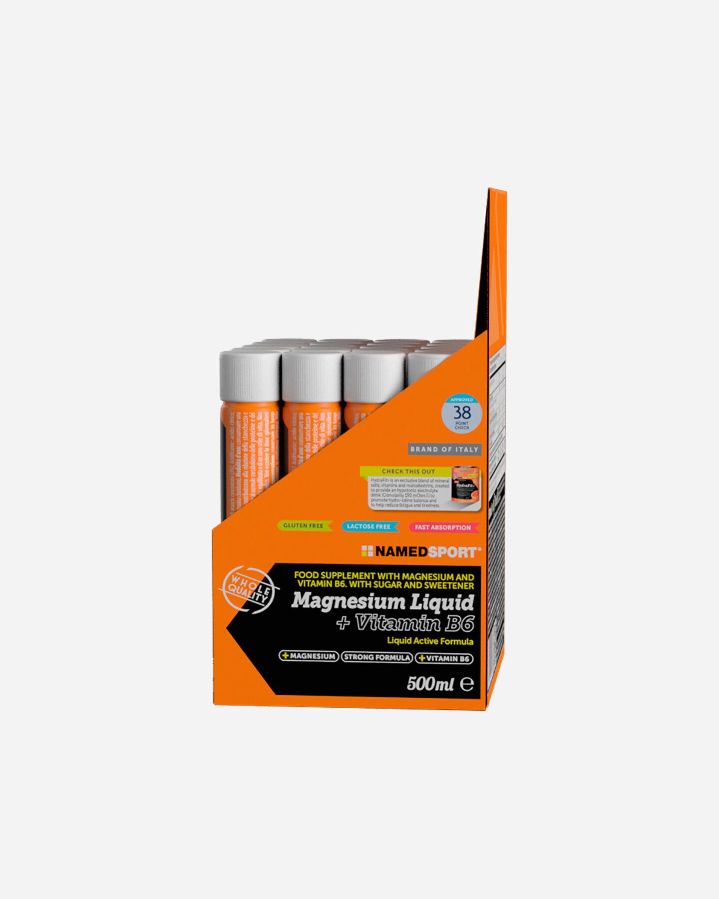Energetico NAMED SPORT MAGNESIO LIQUIDO+VITAMINA B6 25ML S1311857|1|UNI scatto 3