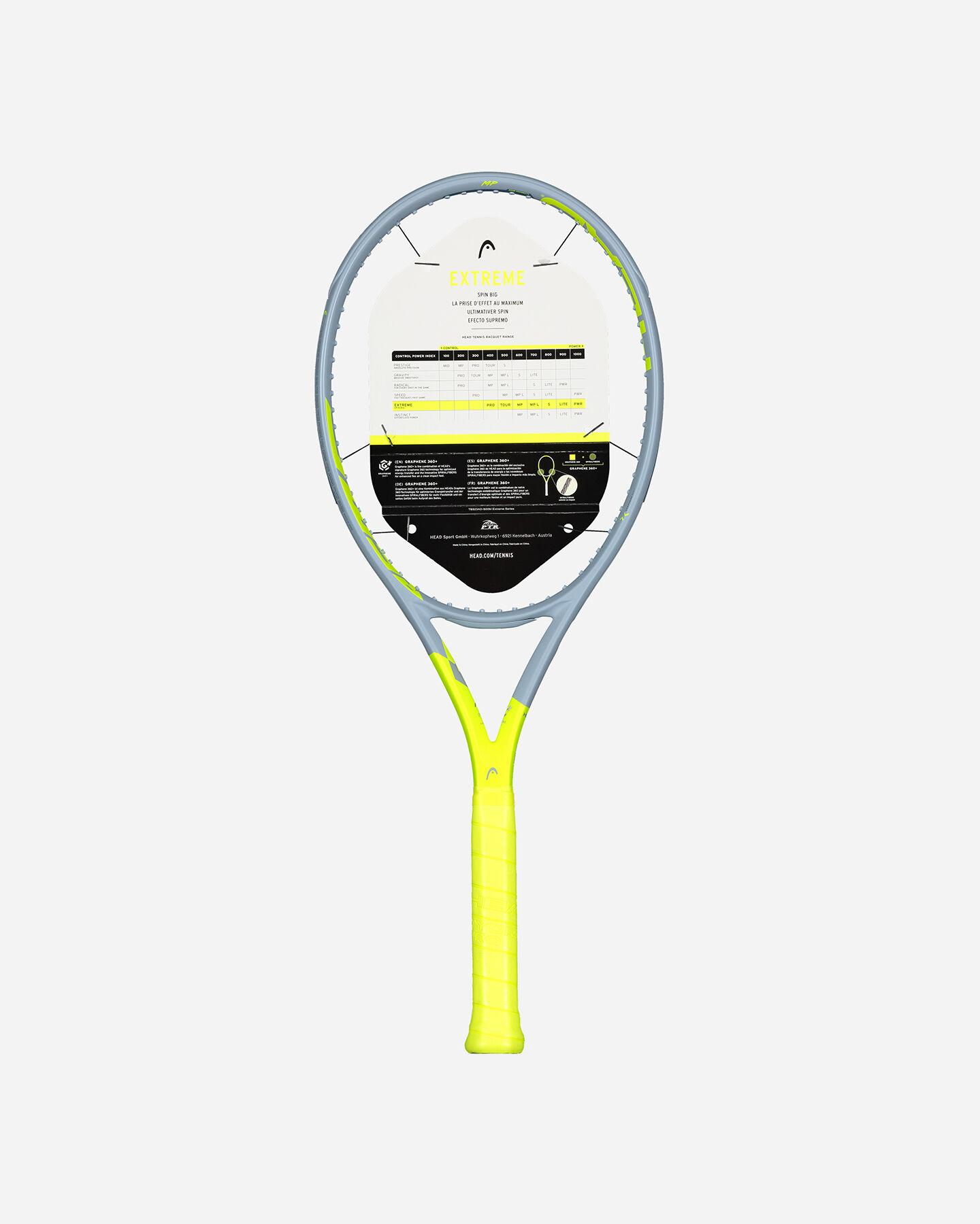 Telaio tennis HEAD TELAIO HEAD GRAPHENE 360+ EXTREME MP 300GR S5303119 scatto 1
