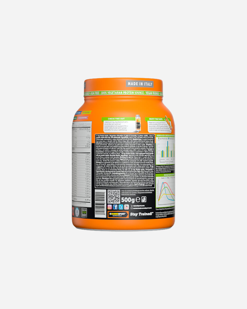Energetico NAMED SPORT SOY PROTEIN ISOLATE DELICIOUS CHOCOCOLATE 500G S1320793|1|UNI scatto 2