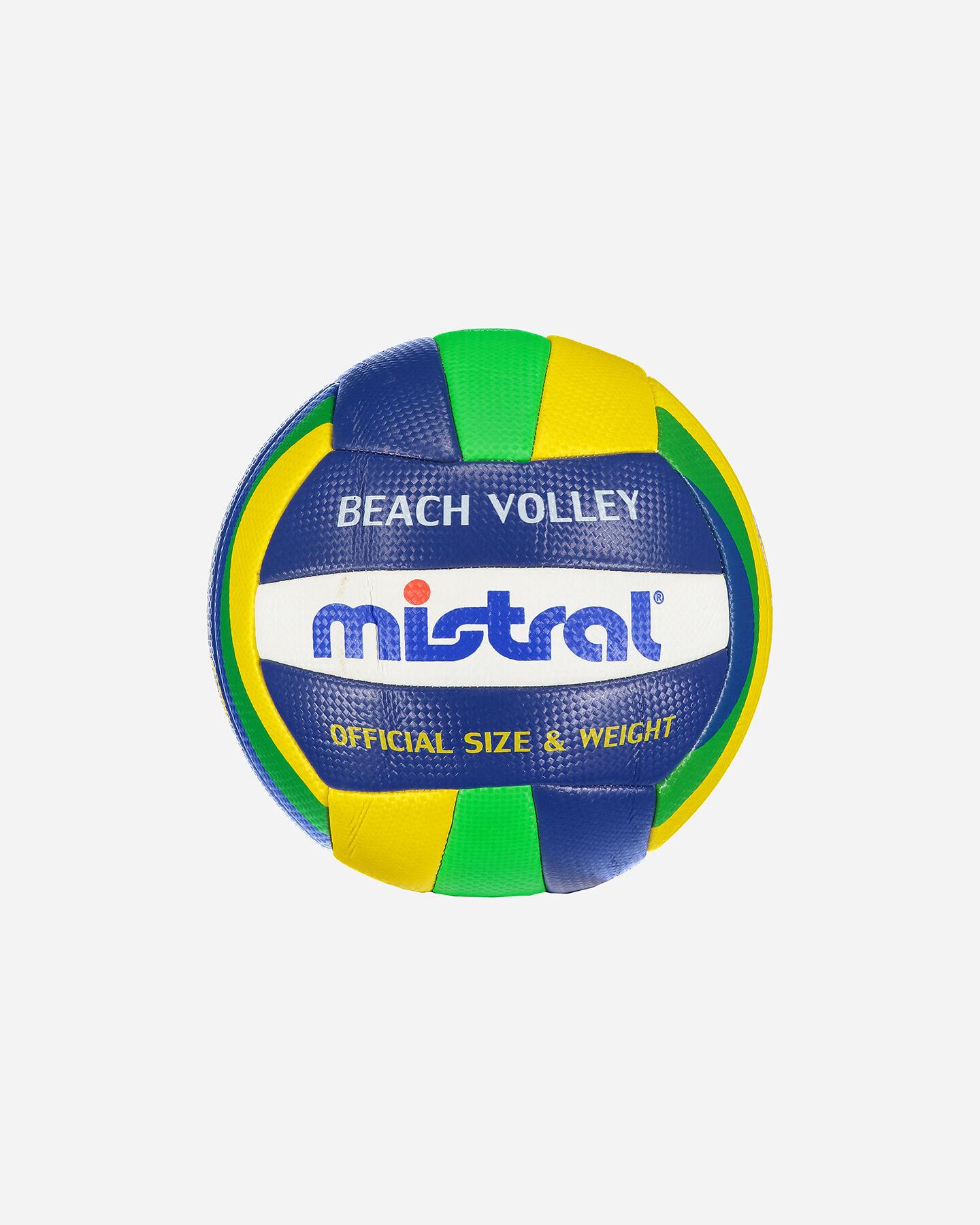 Pallone volley MISTRAL BEACH BRASILE 20 S4076110|896|UNI scatto 0