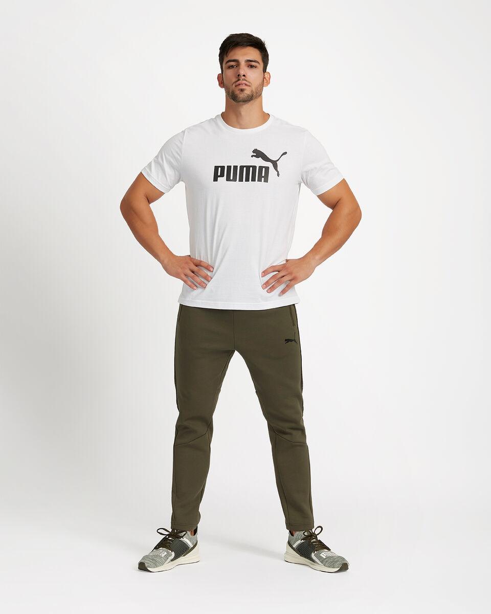 T-Shirt PUMA ESSENTIALS LOGO BASIC TEE M S4051516 scatto 1