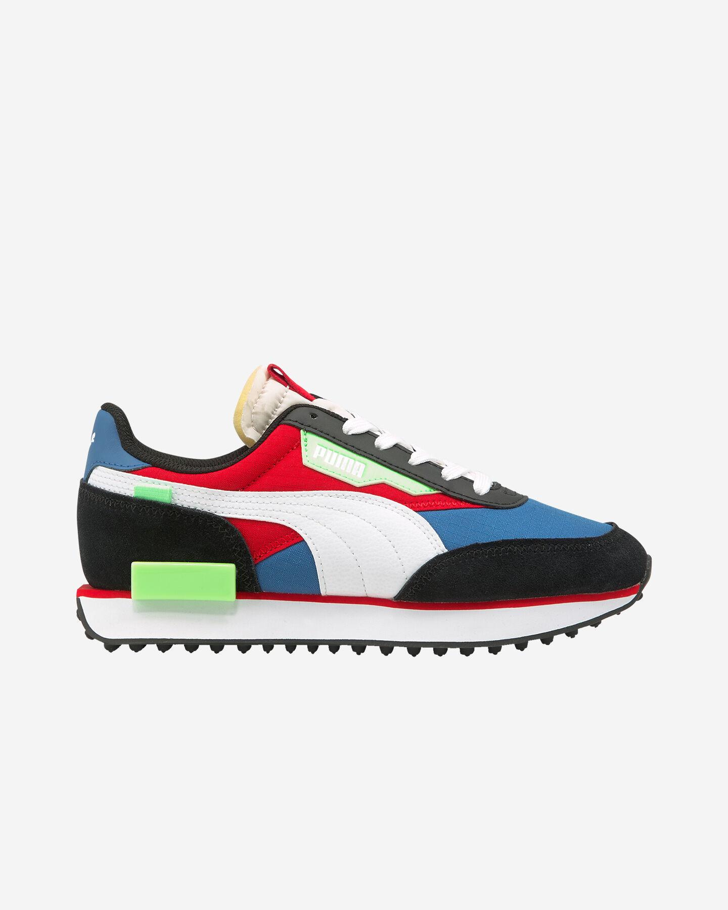 Scarpe sneakers PUMA FUTURE RIDER PLAY ON GS JR S5283249 scatto 0