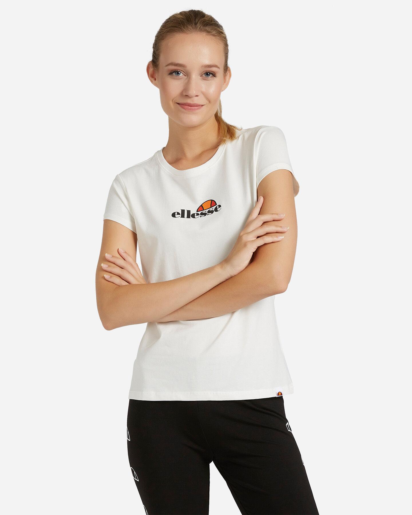 T-Shirt ELLESSE MC LOGO W S4081242 scatto 0
