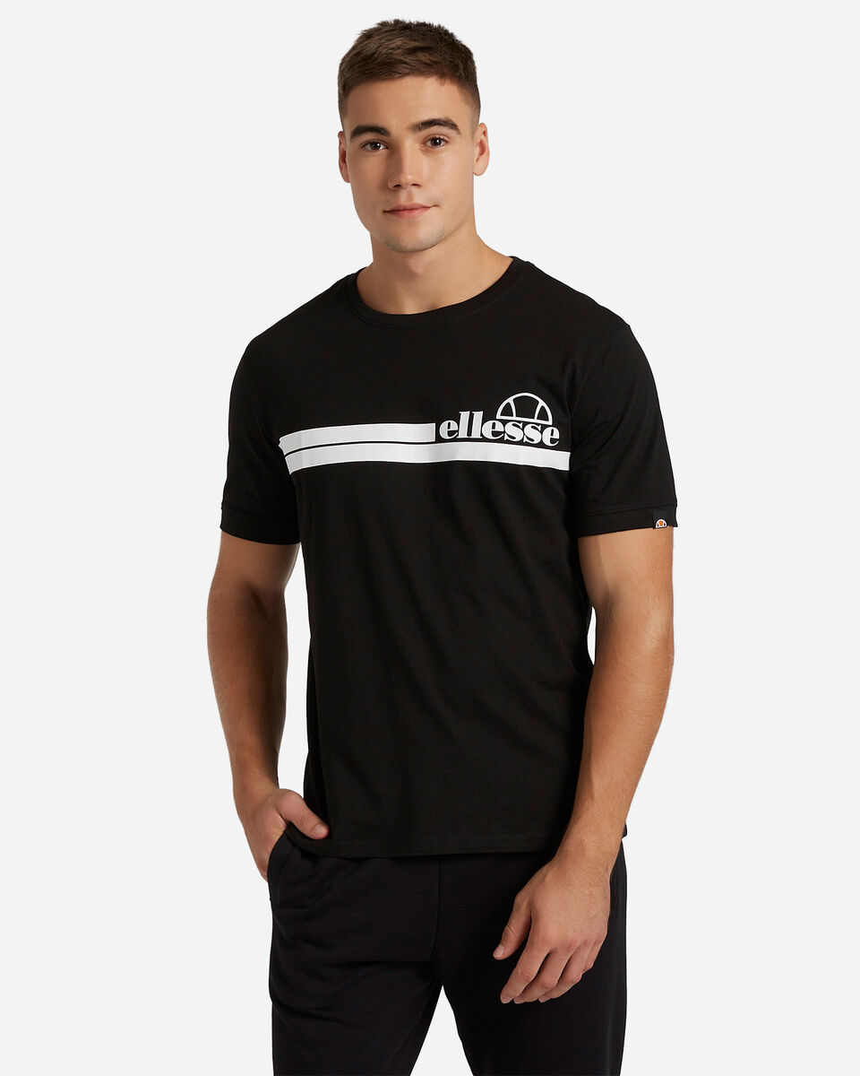 T-Shirt ELLESSE MC STRIPES M S4081222 scatto 0