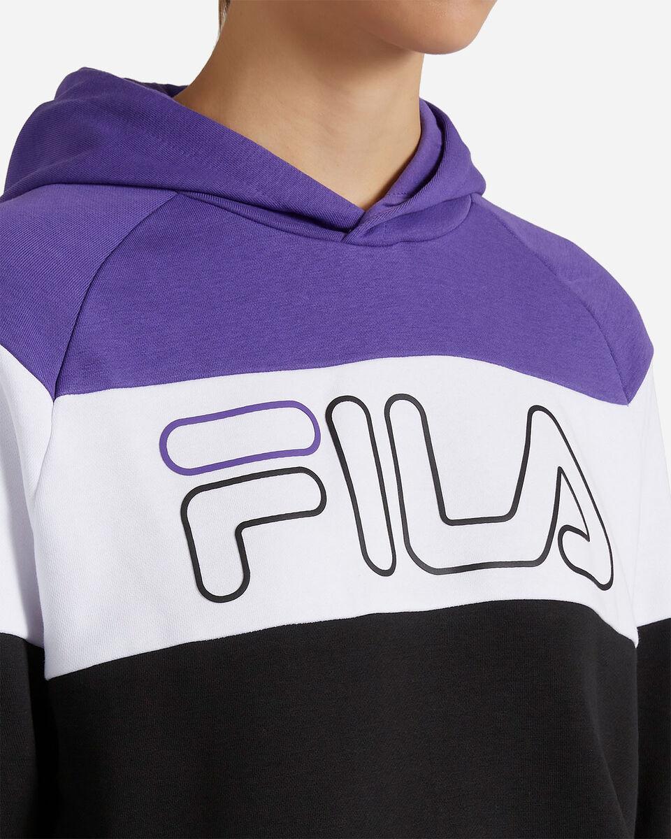 Felpa FILA COLOR BLOCK W S4080519 scatto 4