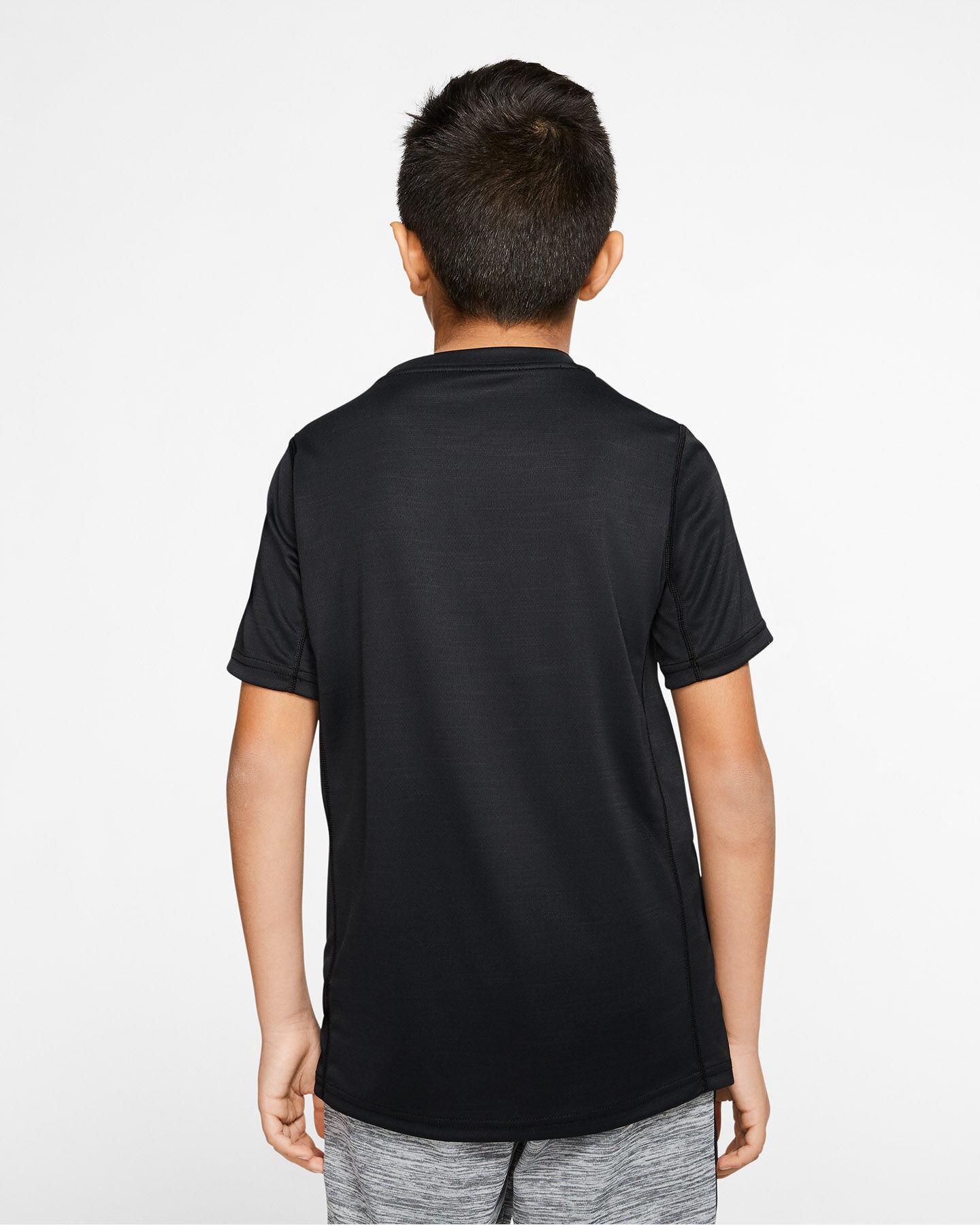 T-Shirt NIKE DRI-FIT SWOOSH JR S5164546 scatto 3