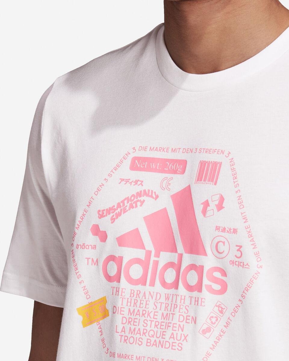 T-Shirt ADIDAS URBAN BIG LOGO M S5211985 scatto 5