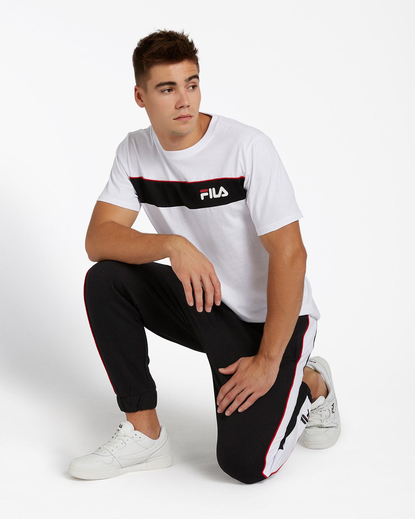 T-Shirt FILA SM LOGO M S4080445 scatto 1