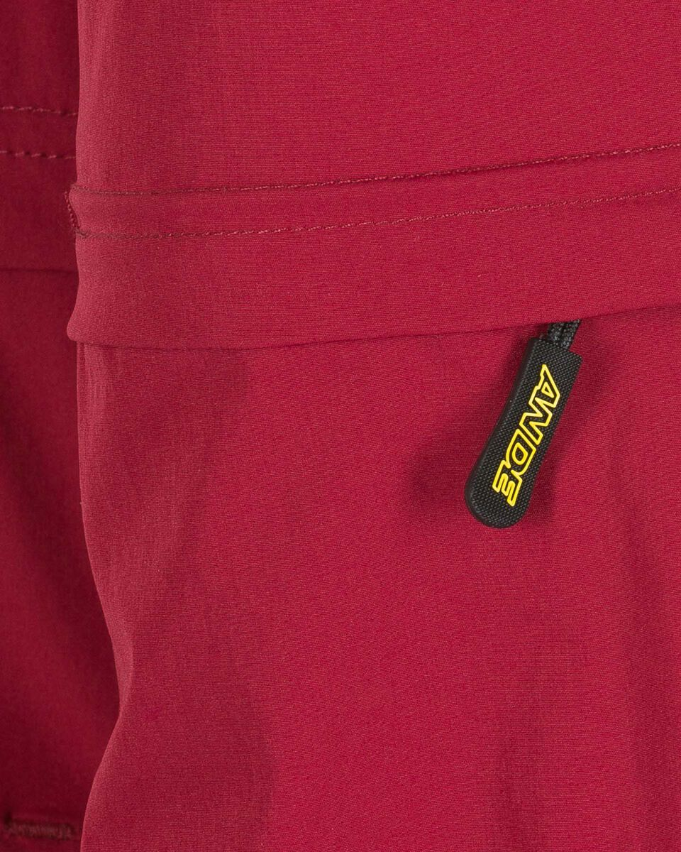Pantalone outdoor ANDE  BADIA ZIP OFF W S4084785 scatto 2