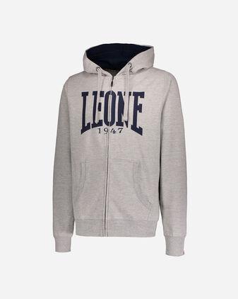 Felpa LEONE LEONE FULL ZIP HOODIE M