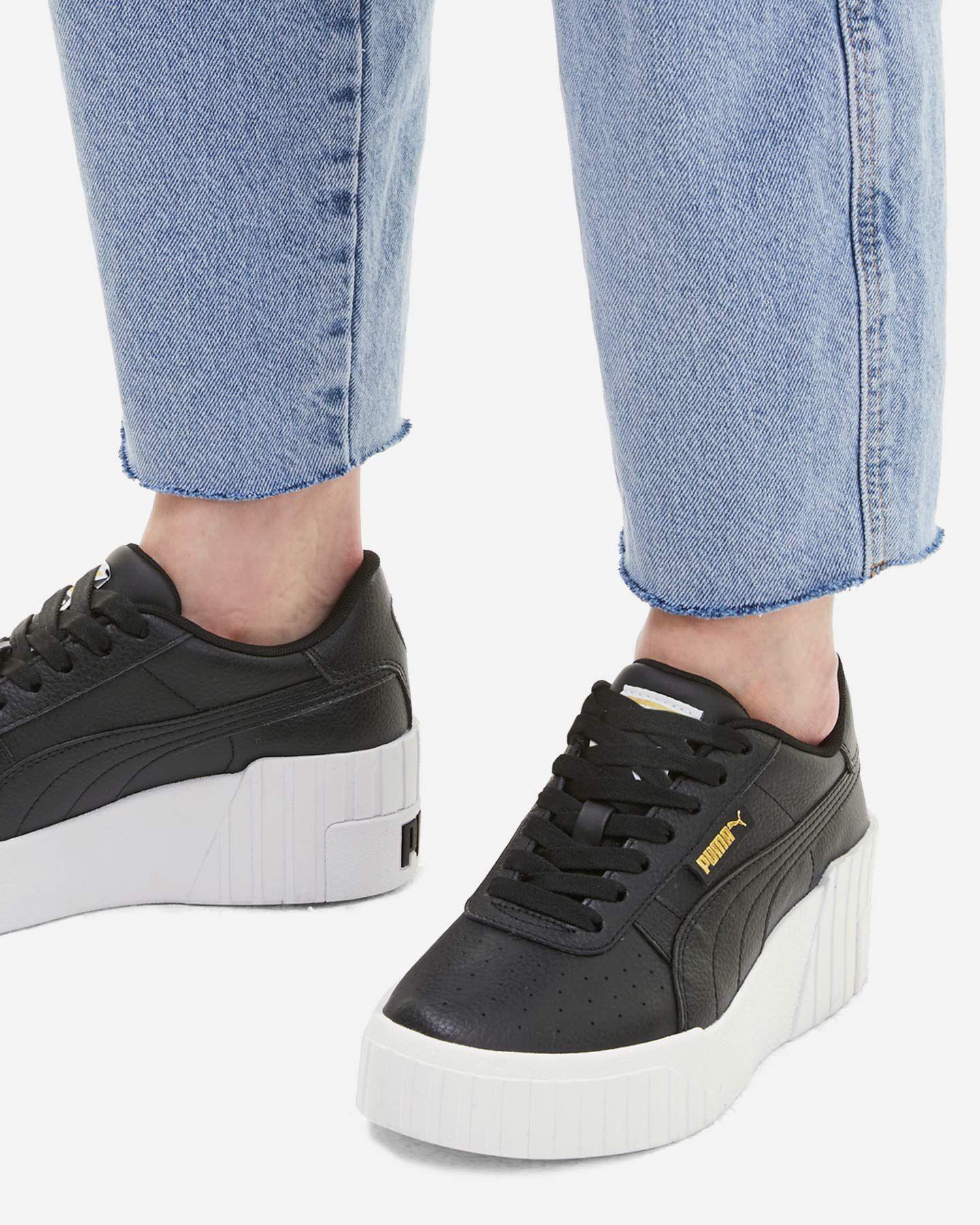 Scarpe sneakers PUMA CALI WEDGE W S5234471 scatto 5