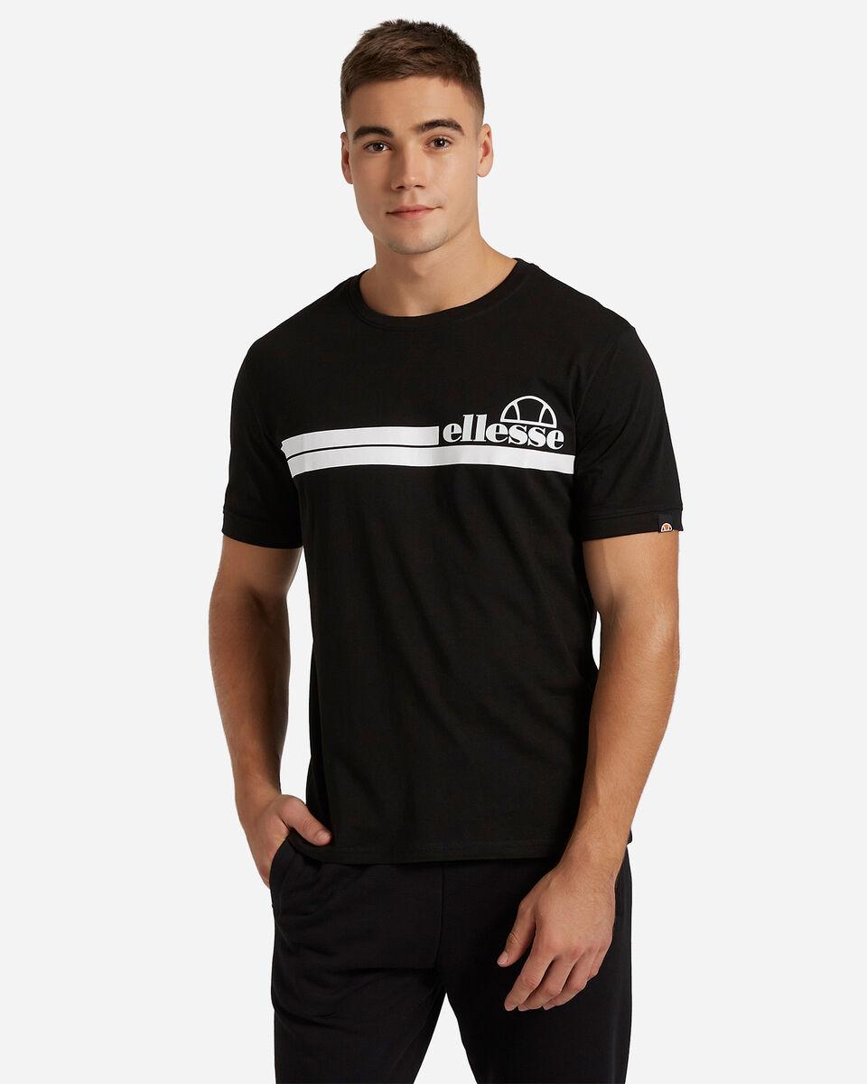 T-Shirt ELLESSE MC STRIPES M S4081221|050|XL scatto 0