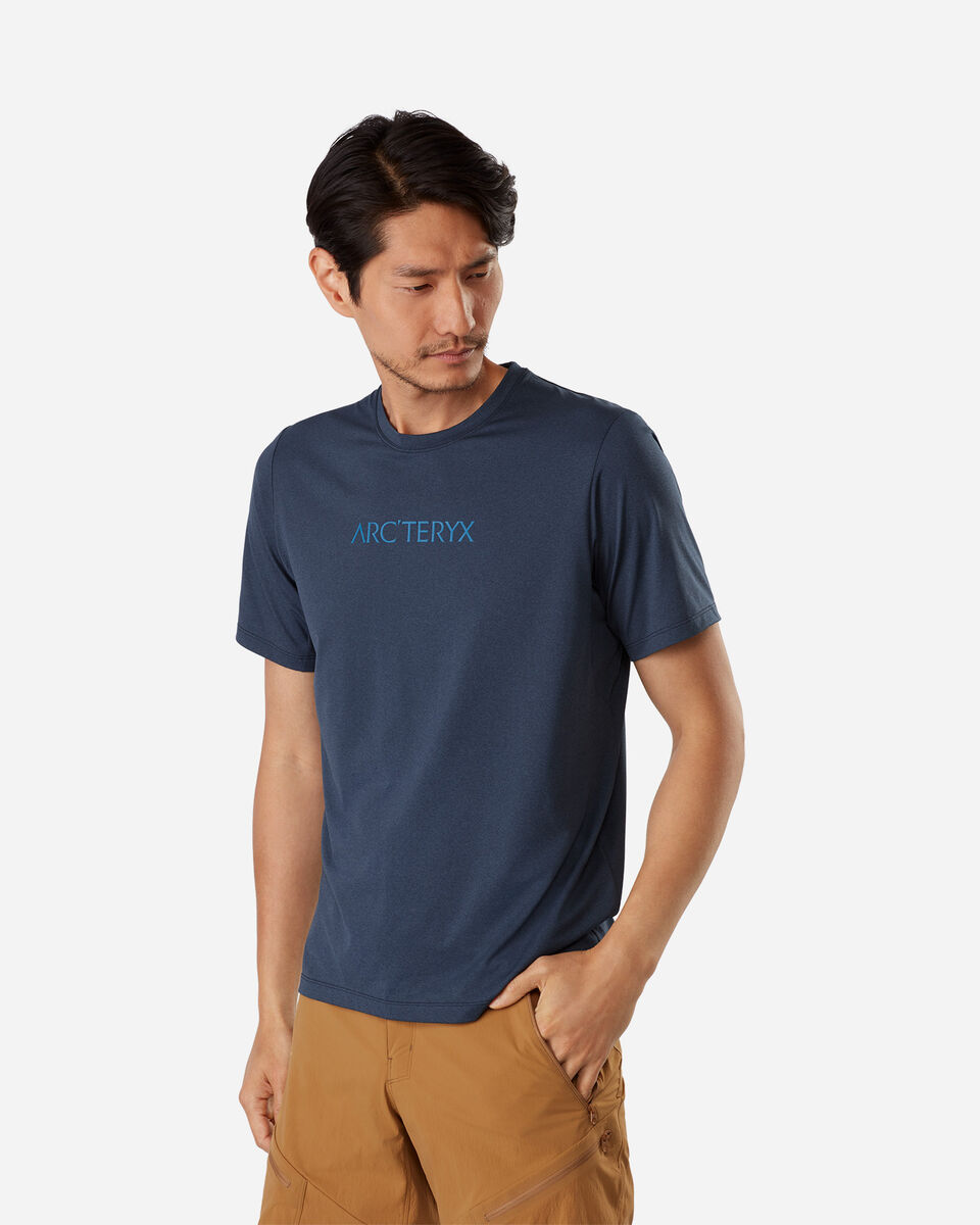 T-Shirt ARC'TERYX REMIGE WORD M S4075197 scatto 1