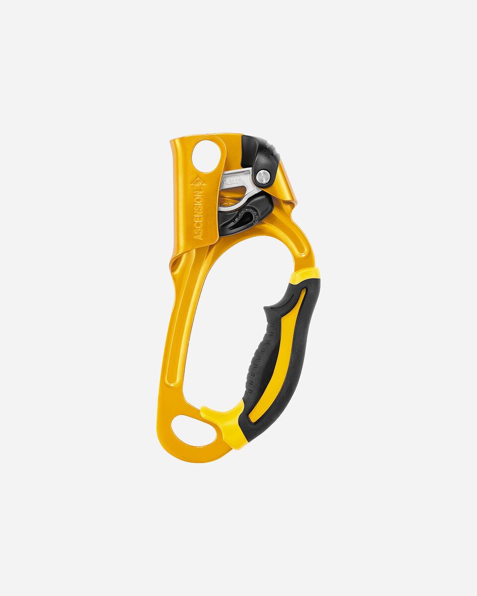 Accessorio arrampicata PETZL MANIGLIA PETZL ASCENSION DX B17ARA S1147024|9999|UNI scatto 0