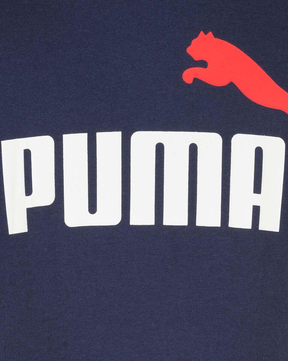 T-Shirt PUMA BIG LOGO JR S5234930 scatto 2
