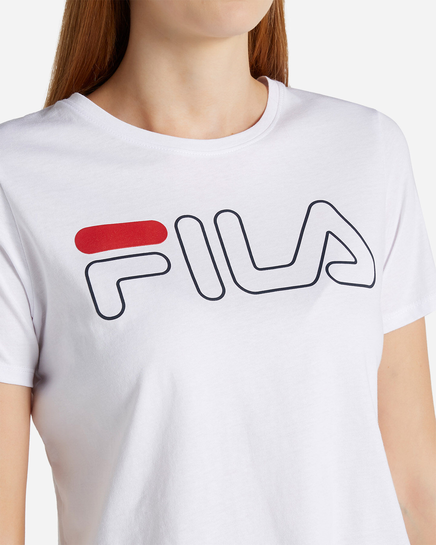 T-Shirt FILA LOGO W S4067230 scatto 4