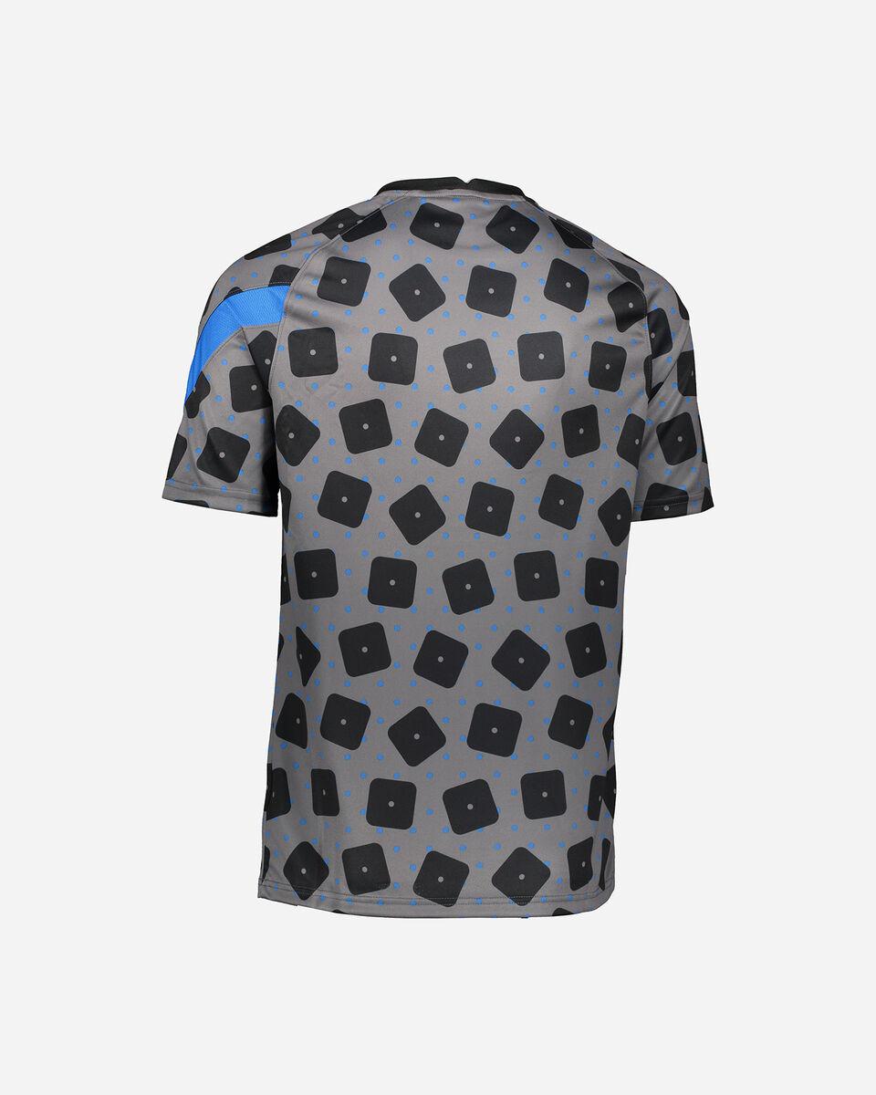 Abbigliamento calcio NIKE INTER PREMATCH UCL 20-21 M S5225150 scatto 1