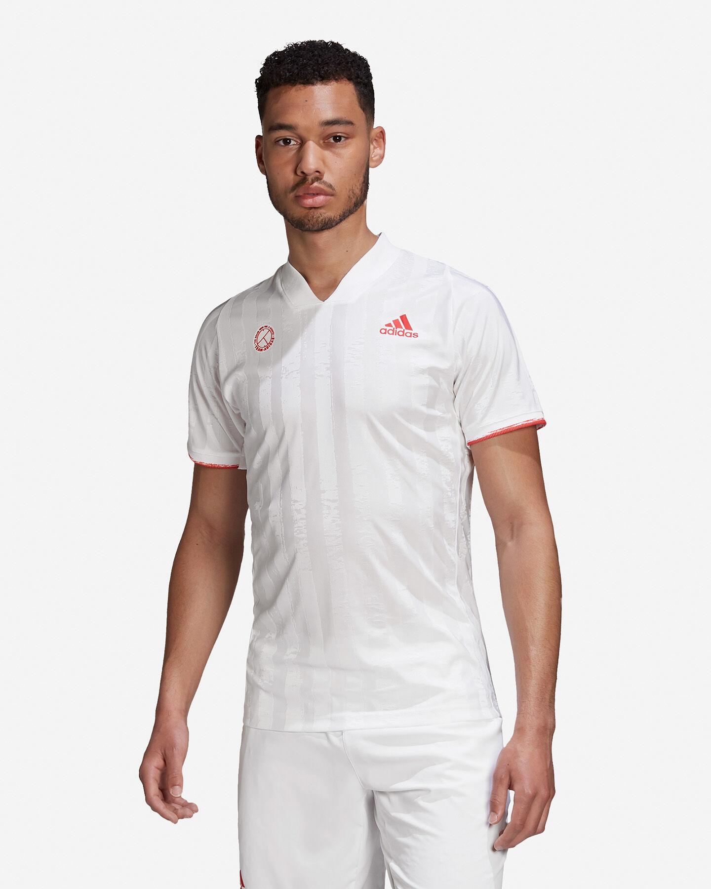 T-Shirt tennis ADIDAS FREELIFT AEROREADY M S5217536 scatto 2