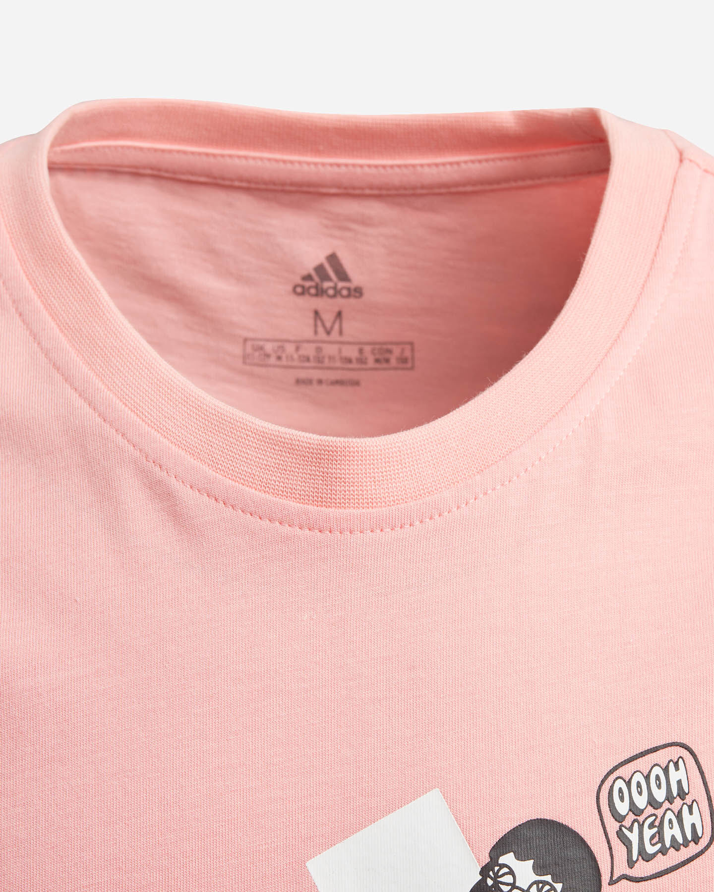 T-Shirt ADIDAS COLLEGIATE JR S5148661 scatto 3