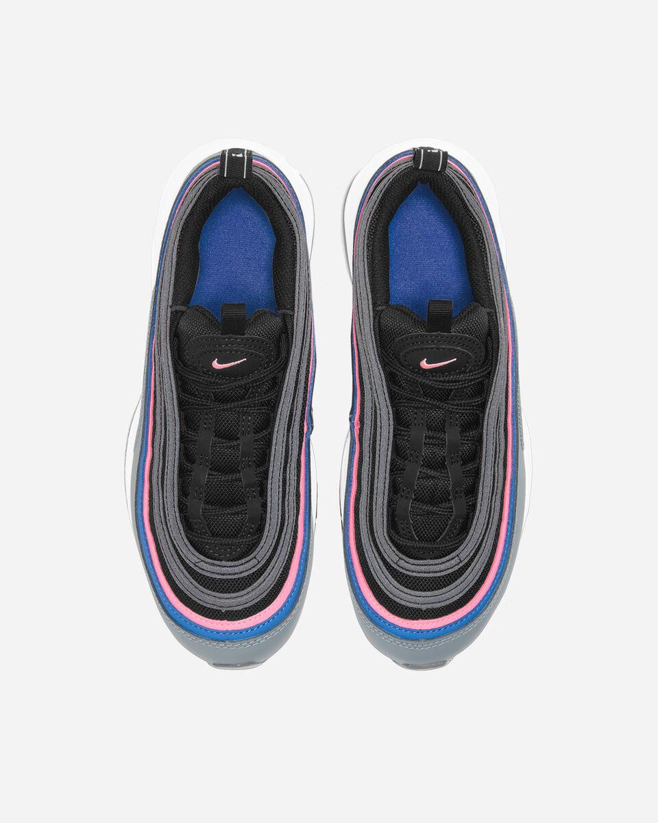 Scarpe sneakers NIKE AIR MAX 97 JR GS S5131705 scatto 3