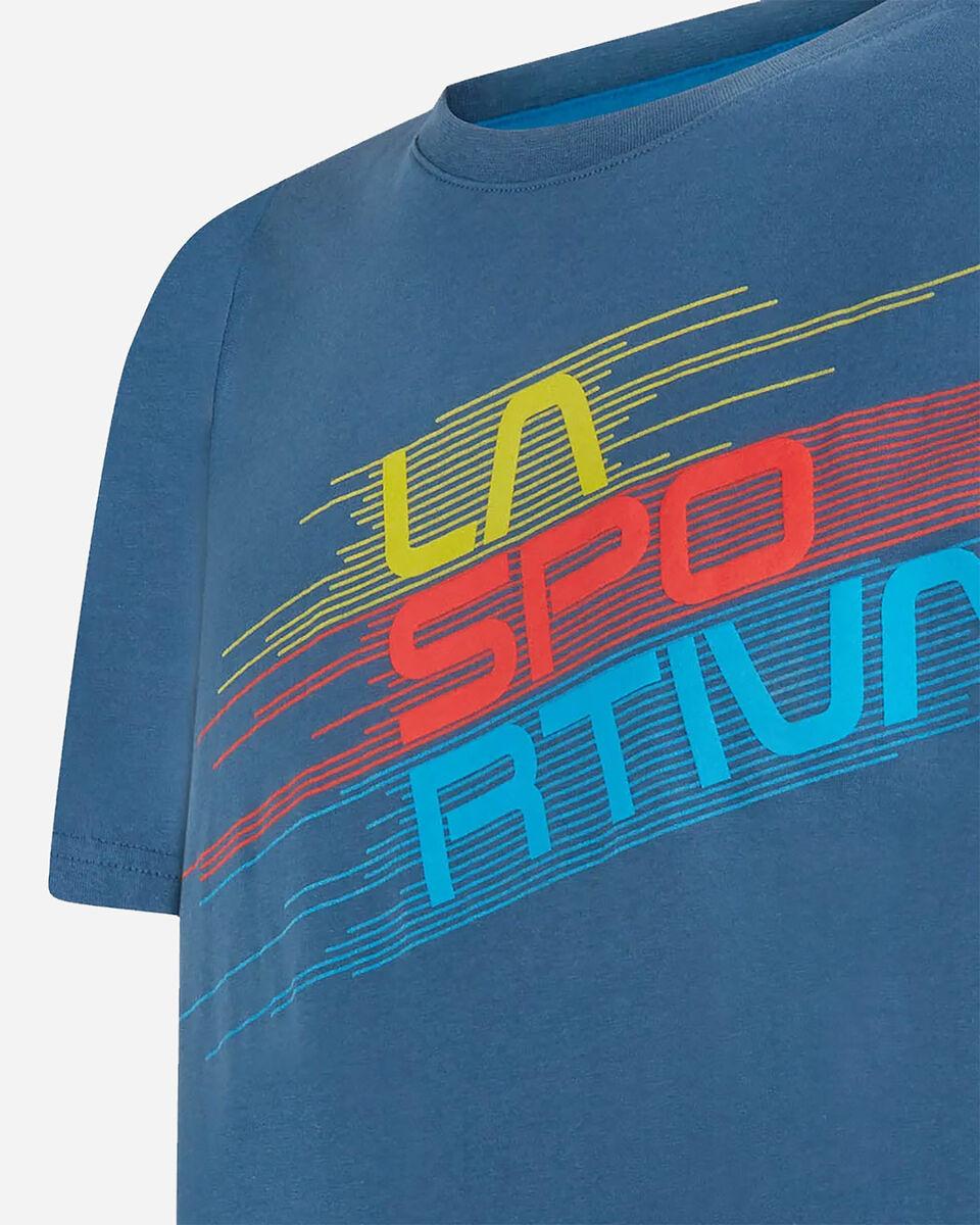 T-Shirt LA SPORTIVA STRIPE EVO M S5198458 scatto 4