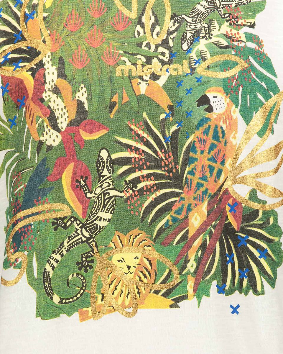 T-Shirt MISTRAL PRINT W S4087793 scatto 2