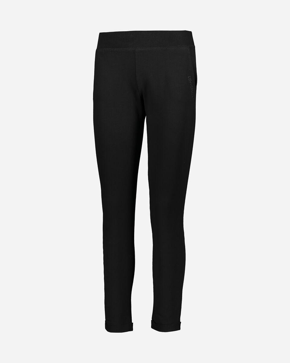 Pantalone CONVERSE LOGO CLASSIC W S5181155 scatto 0