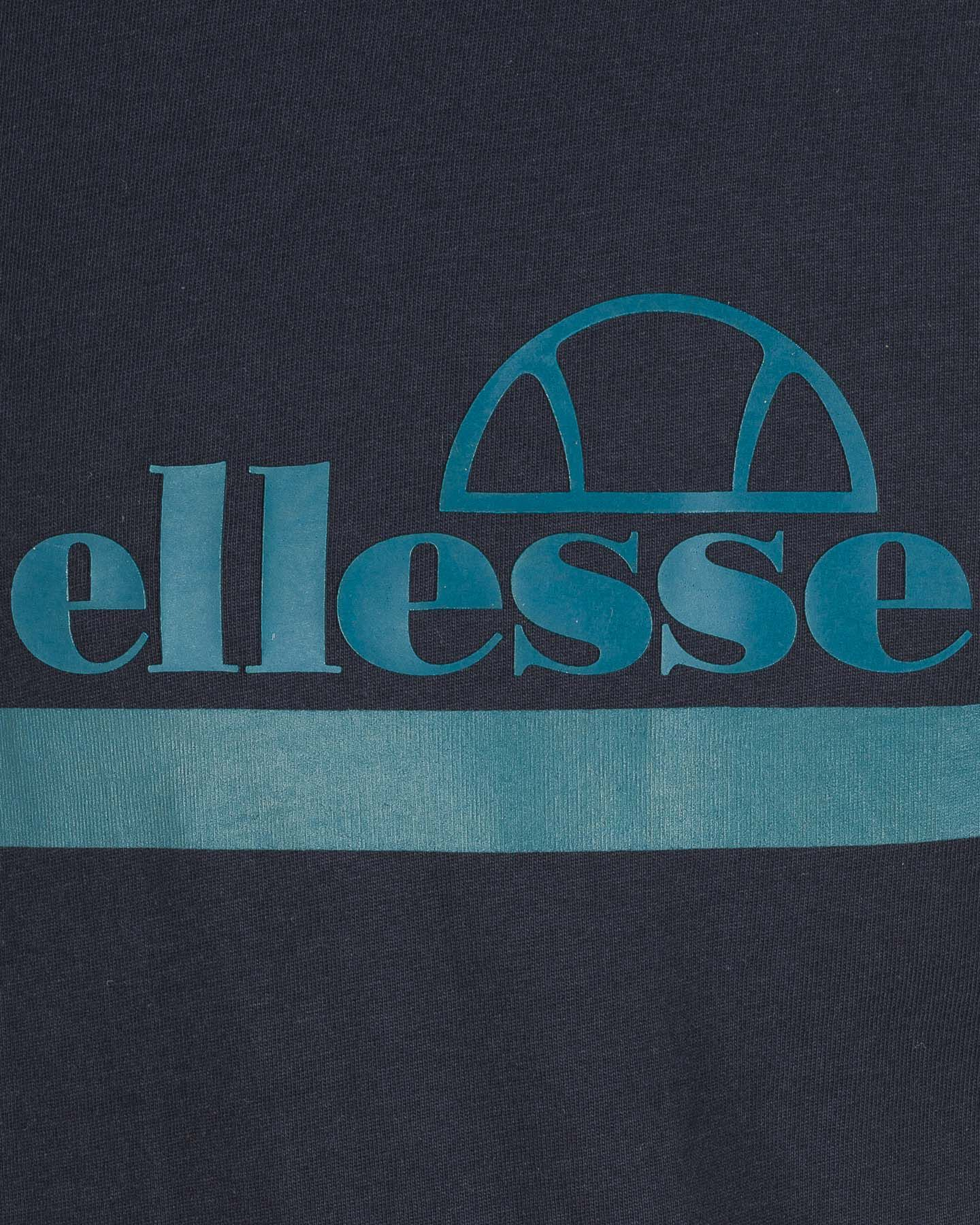 T-Shirt ELLESSE MC STRIPES M S4081222 scatto 3