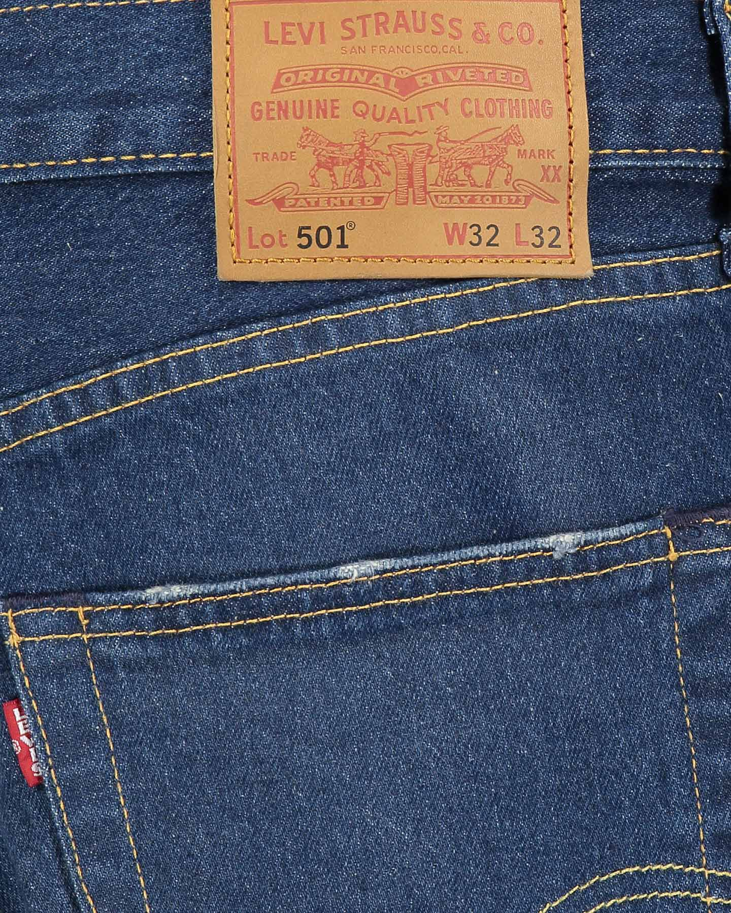 Jeans LEVI'S 501 REGULAR M S4082676 scatto 4