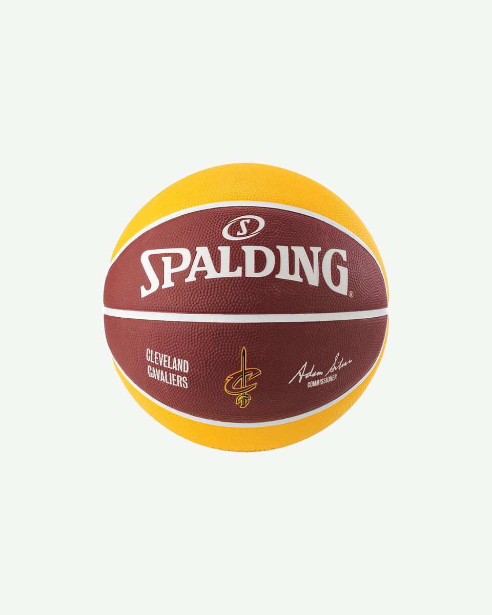 Pallone basket SPALDING CLEVELAND CAVALIERS S2006546|UNI|UNI scatto 1