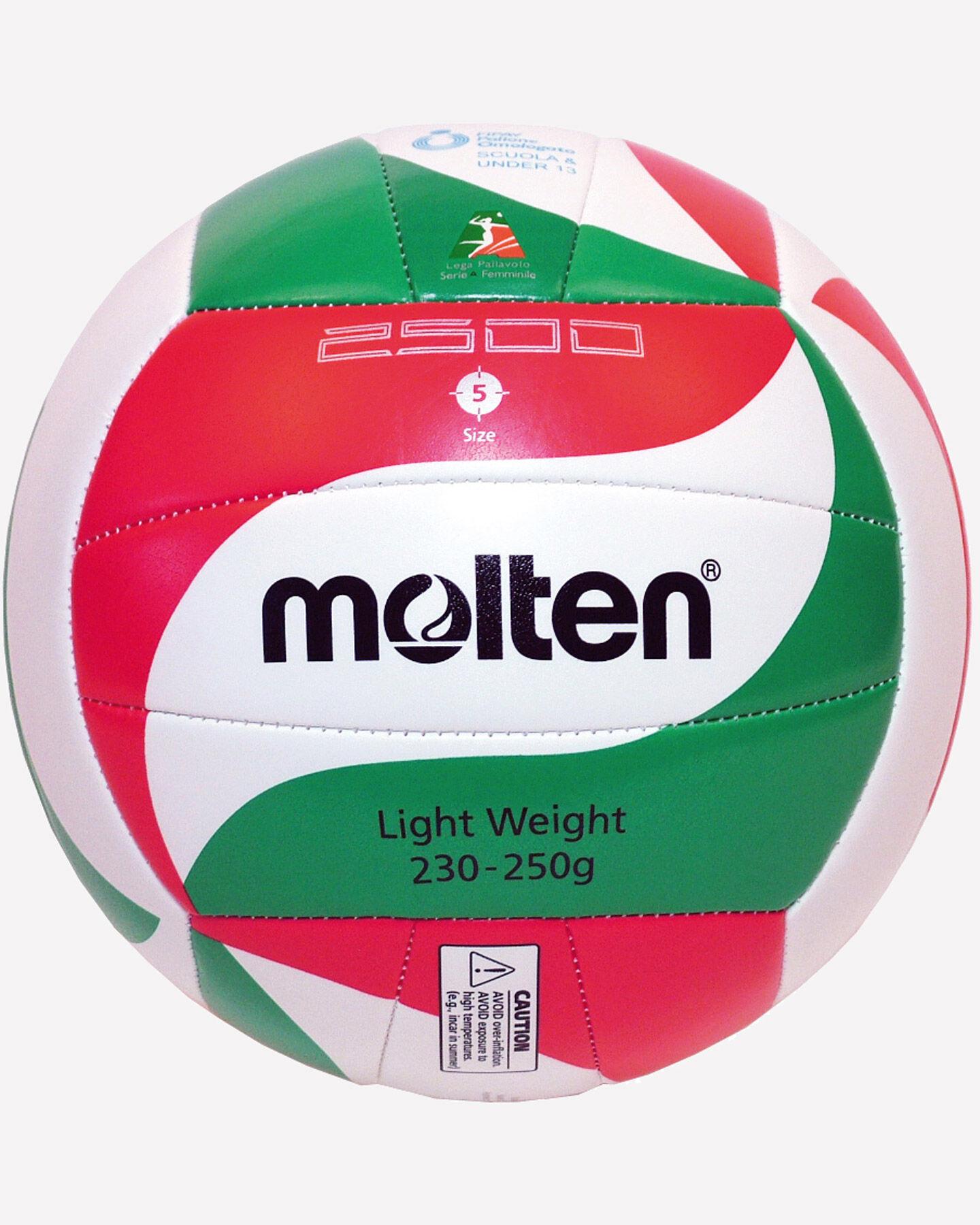 Pallone volley MOLTEN 2500 VOLLEY SCHOOL MIS.5 S1181810 1 5 scatto 1