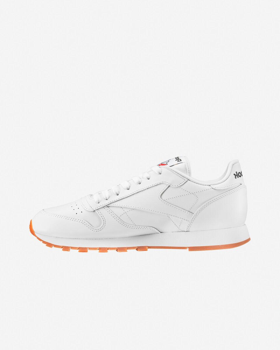 Scarpe sneakers REEBOK CLASSIC LEATHER M S4023267 scatto 5