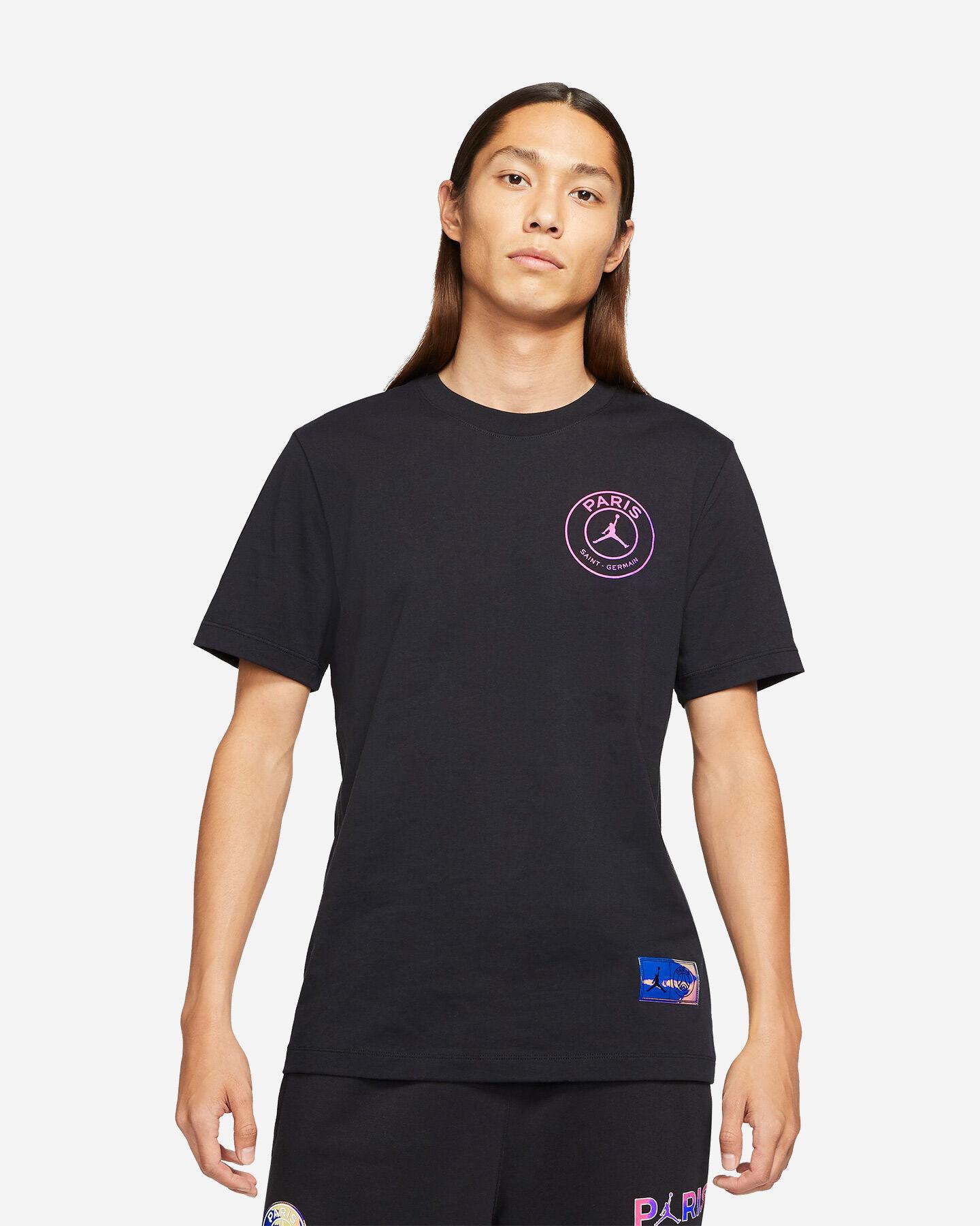 T-Shirt NIKE JORDAN PSG LOGO RETRO M S5267627 scatto 0