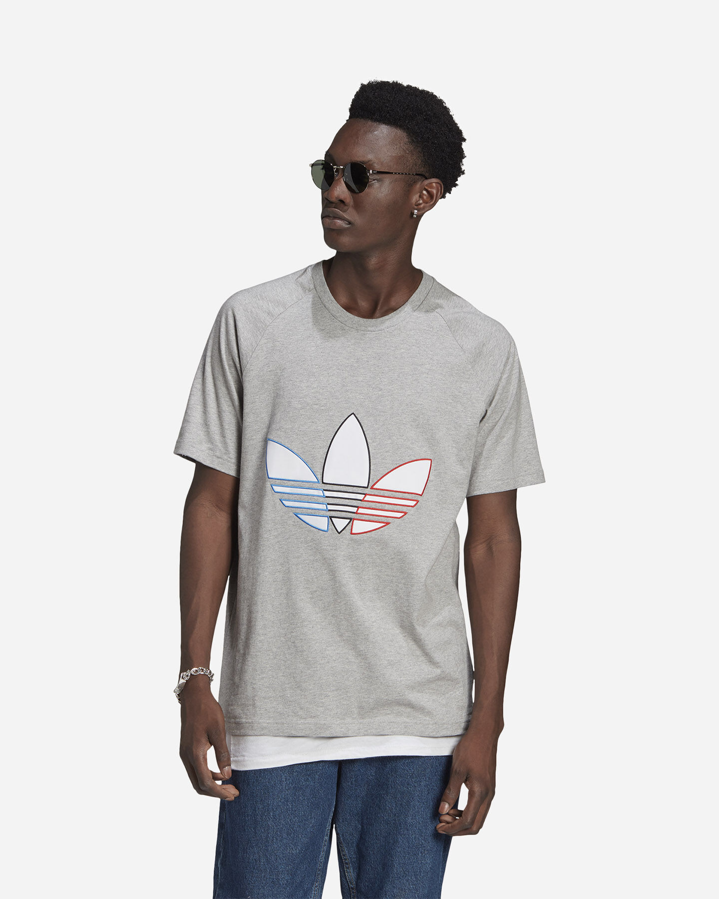 T-Shirt ADIDAS SPACE RACE M S5285698 scatto 1
